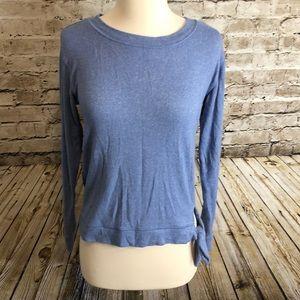 J by JCrew Side Tie Sweatshirt Size XS Blue
